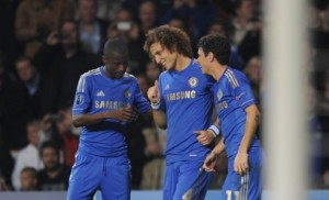 Chelsea's Brazilian trio of Oscar, Ramires and Luiz will relish facing a Brazilian side.