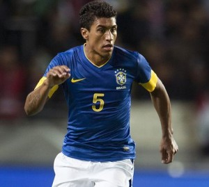 Paulinho - a regular for Brazil and a rumoured target for Chelsea.