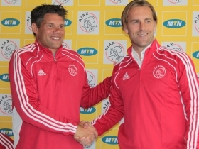 Westerveld is unveiled as an Ajax Cape Town player.