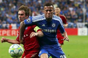 Ryan Bertrand made his Champions League debut in the final of the competition against Bayern Munich.